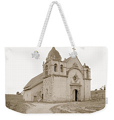 Carmel Mission South Side Circa 1915 Weekender Tote Bag