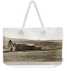 Carmel Mission, With Glimpse Of River And Bay Circa 1880 Weekender Tote Bag