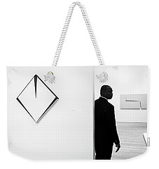 Carmen Herrera At The Whitney 1 Bw Weekender Tote Bag