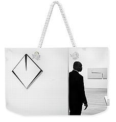 Carmen Herrera At The Whitney 1 Bw Weekender Tote Bag