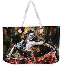 Carmen Weekender Tote Bag