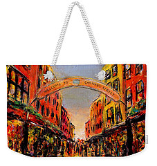 Carnaby Street London Weekender Tote Bag