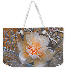Carnation In Cut Glass 7 Weekender Tote Bag