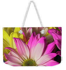 Weekender Tote Bag featuring the photograph Carnations by Ester Rogers
