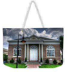 Carnegie Library Weekender Tote Bag by Steve Gravano