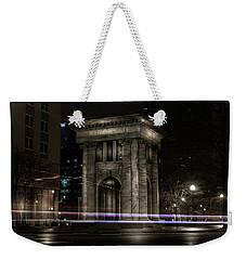 Carnegie Monument Weekender Tote Bag