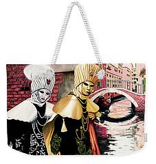 Carnevale Venezia - Prints From Original Oil Painting Weekender Tote Bag