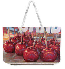 Carnival Apples Weekender Tote Bag