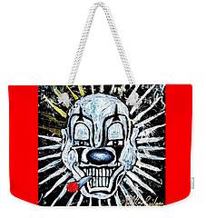 Carnival Clown Weekender Tote Bag