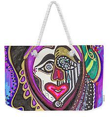Carnival Face Weekender Tote Bag