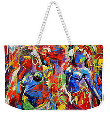Carnival- Large Work Weekender Tote Bag