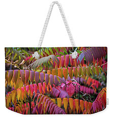 Weekender Tote Bag featuring the photograph Carnival Of Autumn Color by Bill Pevlor