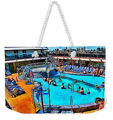 Carnival Pride Pool Weekender Tote Bag