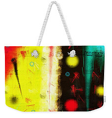 Weekender Tote Bag featuring the digital art Carnival by Silvia Ganora