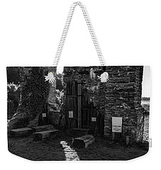 Weekender Tote Bag featuring the photograph Photographs Of Cornwall Carnon Mine by Brian Roscorla