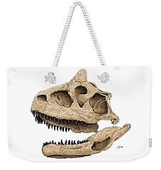 Carnotaurus Skull Weekender Tote Bag