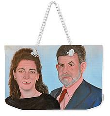 Carol And Max Weekender Tote Bag