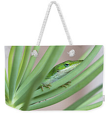 Carolina Anole Weekender Tote Bag