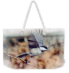 Carolina Chickadee - Come Fly With Me  Weekender Tote Bag