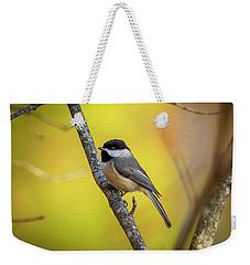 Carolina Chickadee Weekender Tote Bag