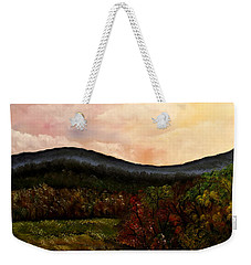 Carolina Fall Weekender Tote Bag