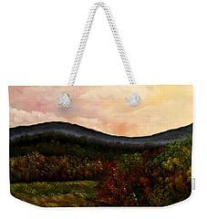 Carolina Fall Weekender Tote Bag