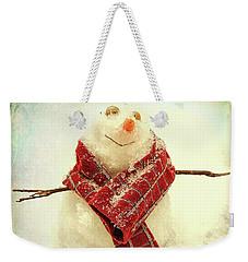 Carolina Snowman Weekender Tote Bag