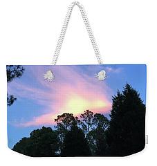Carolina Summer Sky Weekender Tote Bag