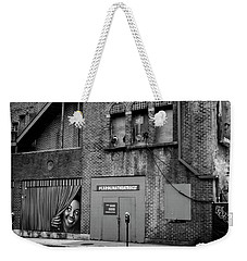 Carolina Theatre In Black And White Weekender Tote Bag