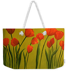 Carolina Tulips Weekender Tote Bag