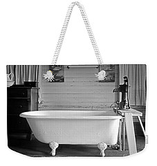 Weekender Tote Bag featuring the photograph Caroline's Key West Bath by John Stephens