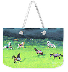 Carousel Horse Retirement Weekender Tote Bag