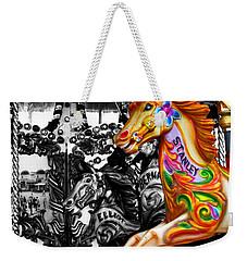 Carousel In Isolation Weekender Tote Bag