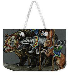 Carousel Kids 4 Weekender Tote Bag