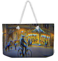 Carousel Lucca Italy Weekender Tote Bag