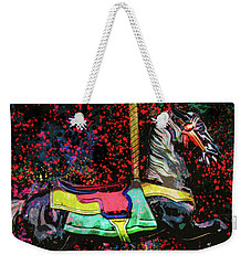 Weekender Tote Bag featuring the photograph Carousel Number 16 by Michael Arend