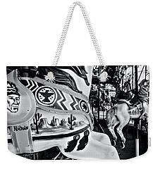 Carousel Of Despair 7 Weekender Tote Bag by James Aiken