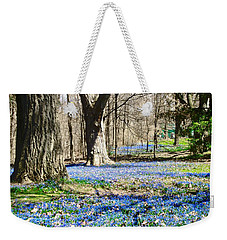 Carpet Of Blue Weekender Tote Bag