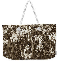 Weekender Tote Bag featuring the photograph Carpet Of Daffodils by Jacek Wojnarowski