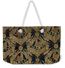 Textile Tapestry Carpet With The Arms Of Rogier De Beaufort Weekender Tote Bag by R Muirhead Art