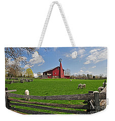 D14d-43 Carriage Hill Farm Metro Park Photo Weekender Tote Bag