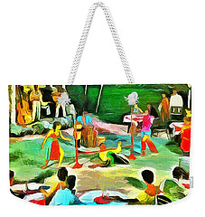 Carribean Scenes - Calypso And Limbo Weekender Tote Bag