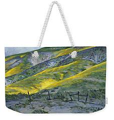 Carrizo Spring Mustard Weekender Tote Bag