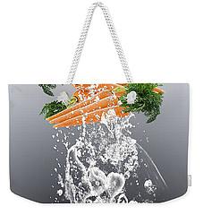 Carrot Splash Weekender Tote Bag