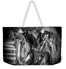 Carrots Cowgirls And Horses  Black Weekender Tote Bag