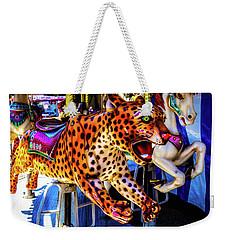 Carrousel Cheetah Weekender Tote Bag