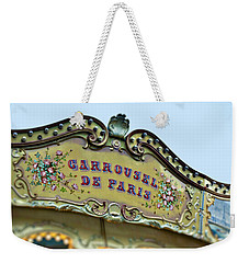 Carrousel De Paris Weekender Tote Bag