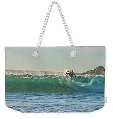 Carsbad Surfer Cutting In Weekender Tote Bag