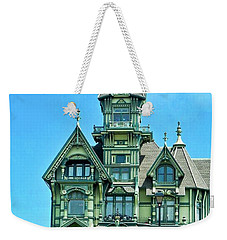 Carson Mansion In Eureka Weekender Tote Bag