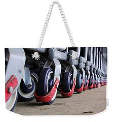 Cart Wheels Weekender Tote Bag